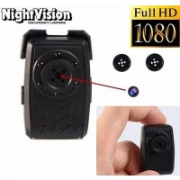 Mini Button Camera Full HD 1080P with loop recording